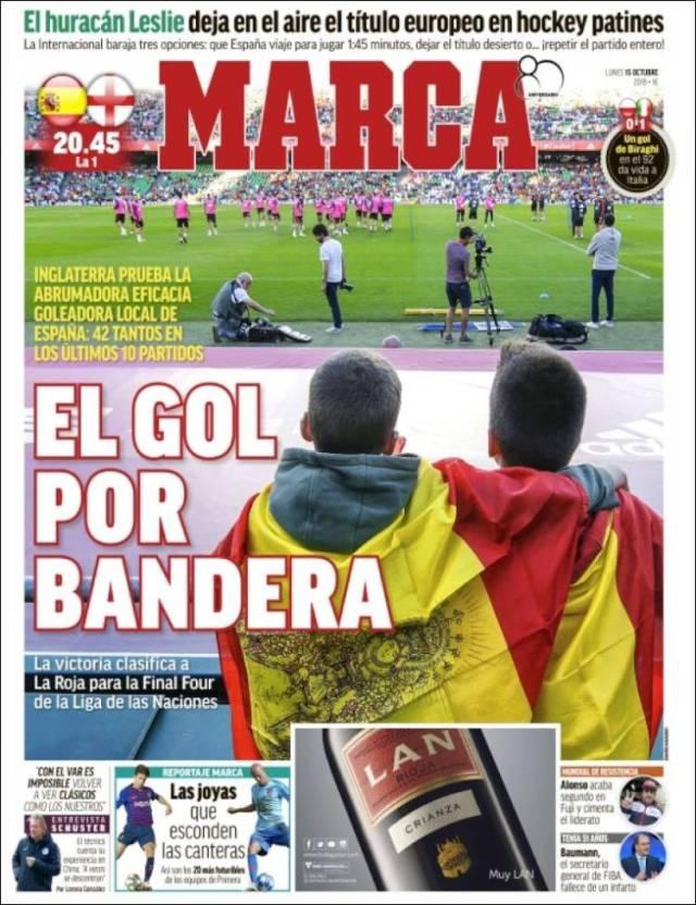 Portada de Marca (España)