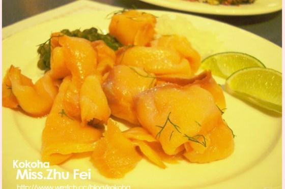 ﹝食﹞台北。王朝酒店buffet ~煙燻鮭魚再來幾盤