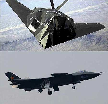 Chinas new stealth fighter may use US technology