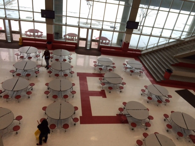 High Musical Cafeteria East High School