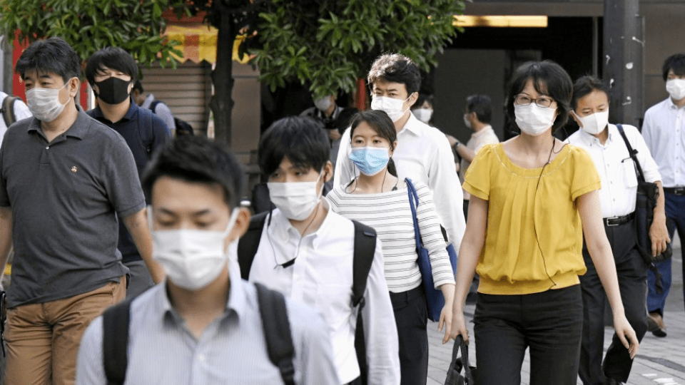 In Japan with a cold-like symptom, 60% started working during a pandemic
