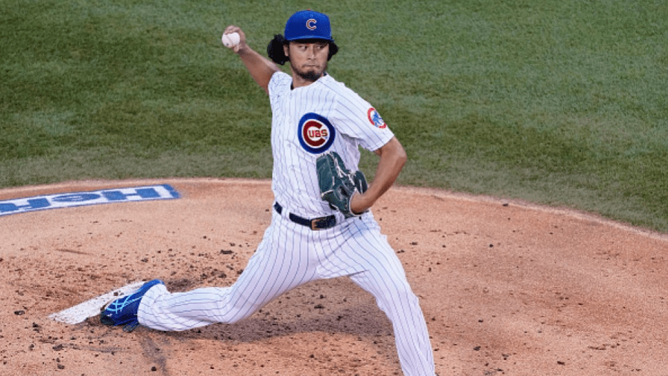 Baseball: Cubs Yu Darvish announces first victory in second start of 2020 season