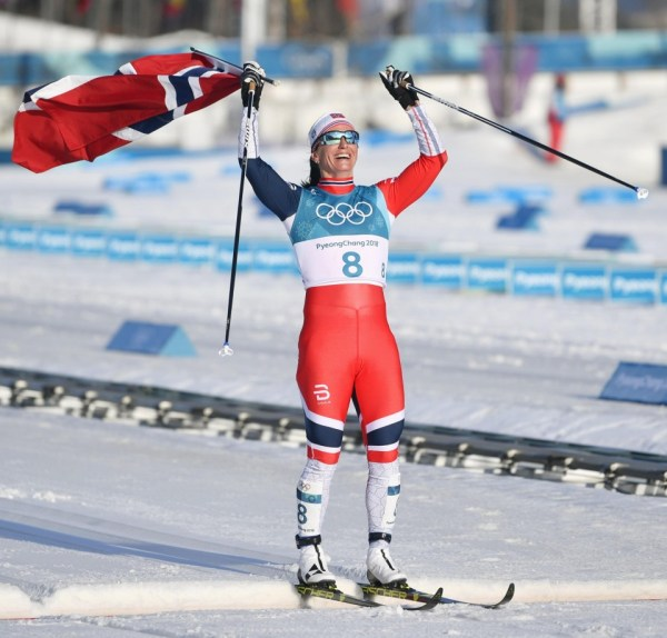 Olympics: Bjoergen wins record-equaling 8th Winter Games gold