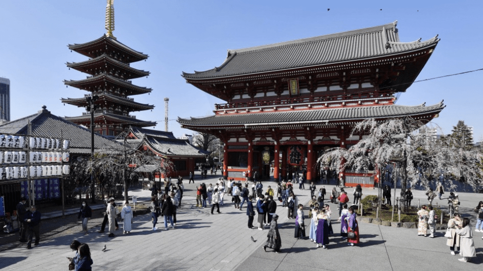 Government views on Japan's regional economy after the virus slump