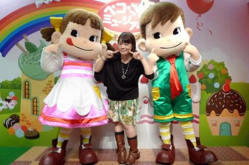 2011年8月22日~9月4日銀座期間限定★<不二家牛奶妹博物館參觀記>