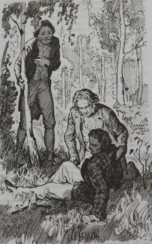 Иллюстрация 8 из 10 для Отцы и дети - Иван Тургенев ...