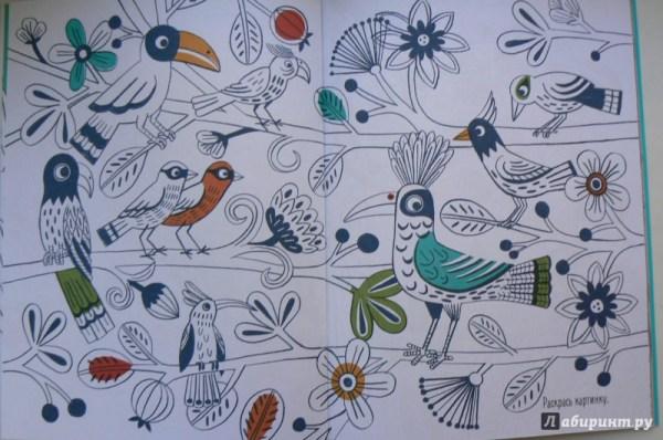 Иллюстрация 34 из 45 для Разноцветные джунгли. Раскраска с ...