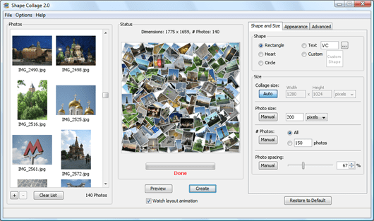 photo collage software