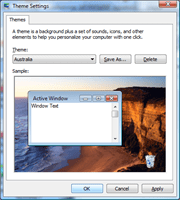 Set Windows 7 theme in Vista