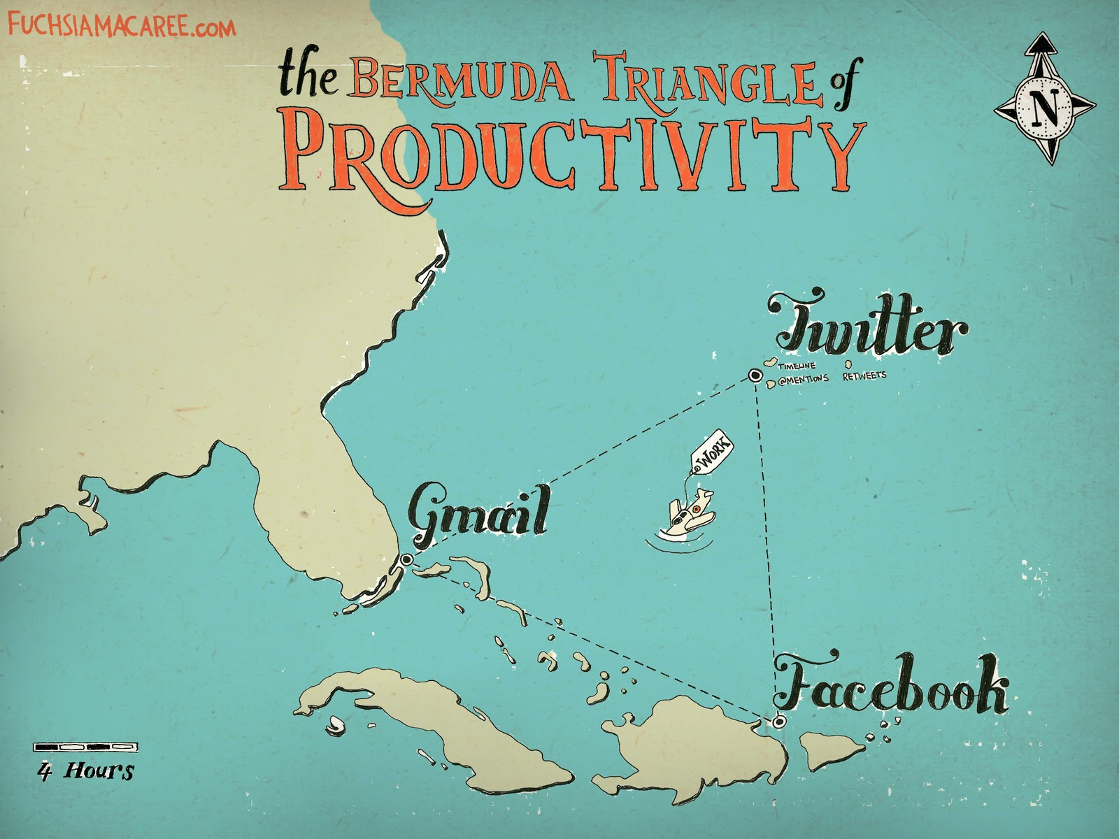 bermuda triangle productivity