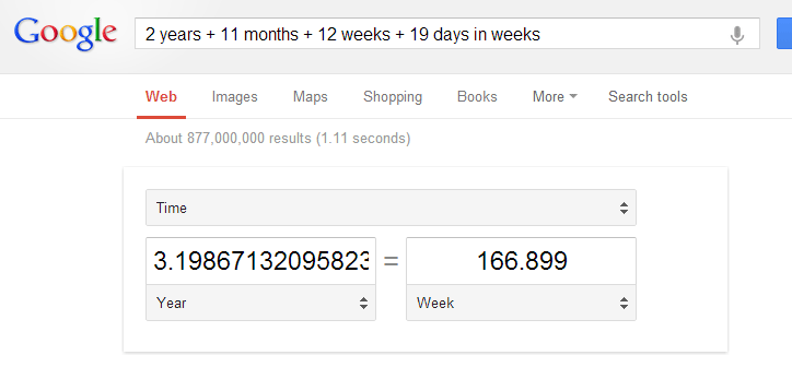 Convert Dates with Google
