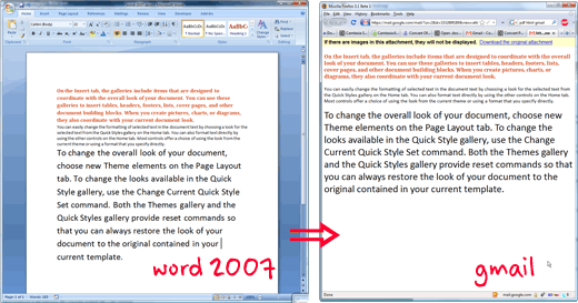 How to convert doc. to docx. in Word
