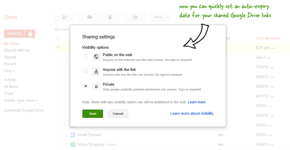 Google Drive Shared Folders