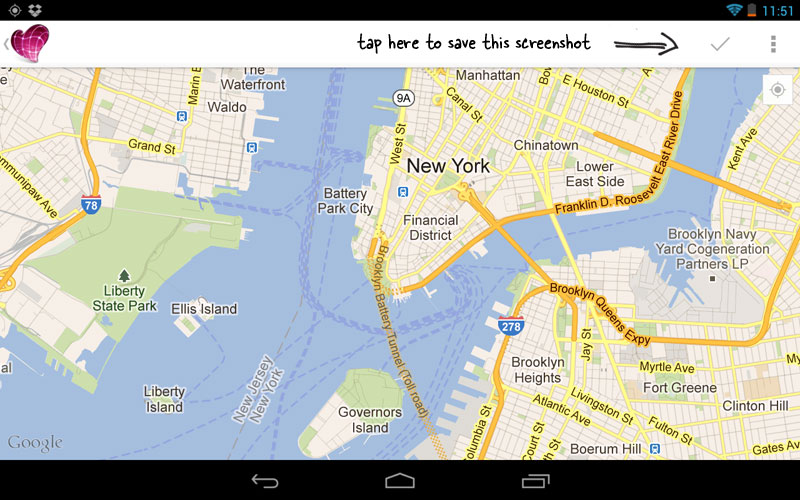 Google Maps Screenshots