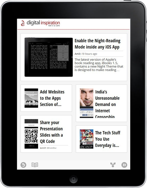 Google Currents Producer