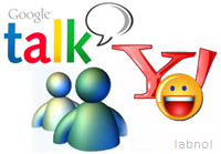 call google talk from yahoo