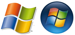 windows xp vista logo