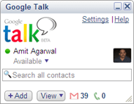 google talk friends