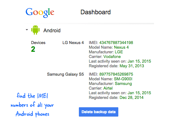 How to Find the IMEI Number of your Lost Phone