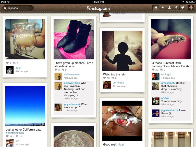 instagram on ipad