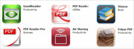 PDF Readers for iPad