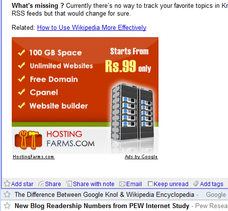 Large RSS Ad