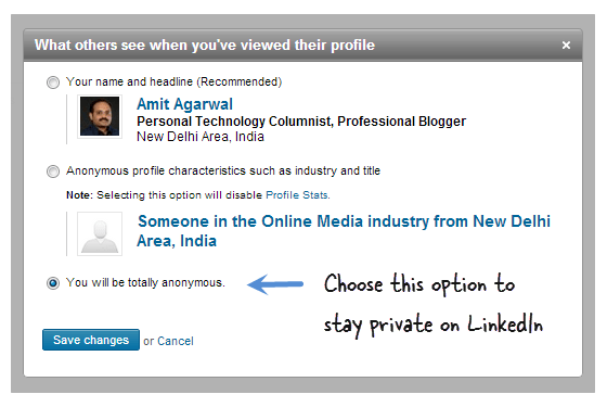 LinkedIn Profile Views