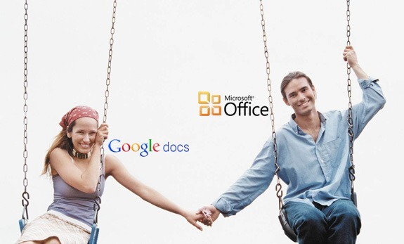 Microsoft Office with Google Docs