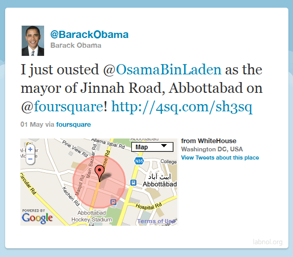 Barack Obama from Abbottabad
