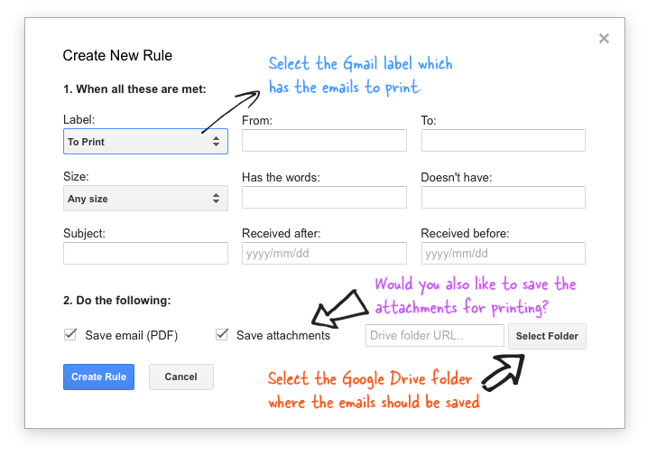 Save email as pdf gmail