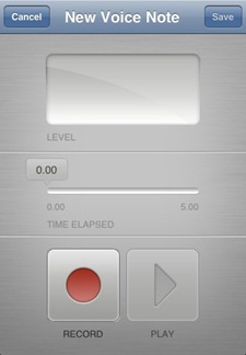 voice recorder
