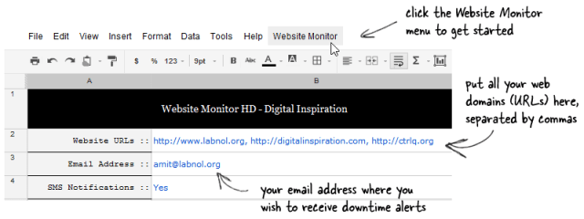 Website Monitor with SMS Alerts