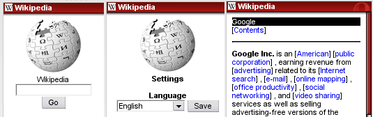 wikipedia mobile website