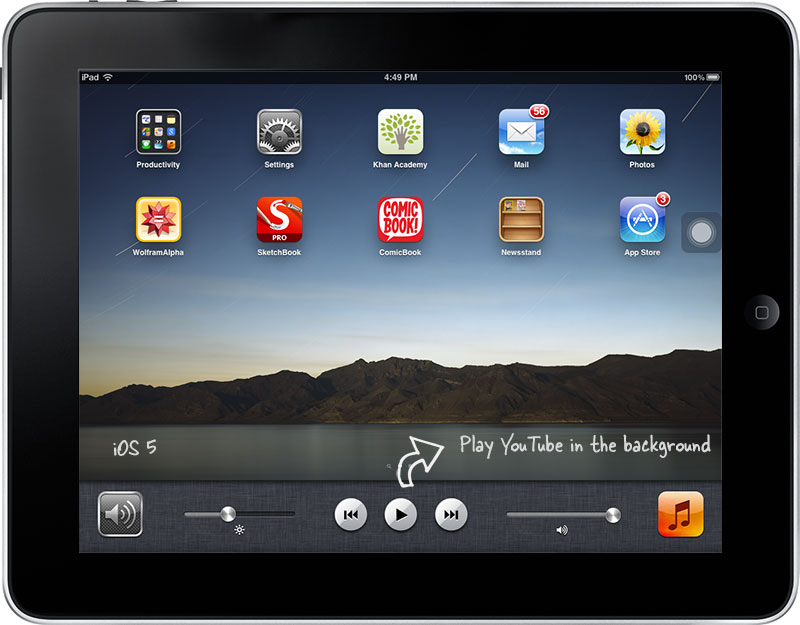 Pin On Ipad Pro Others Wallpaper: How To Play YouTube Videos In The Background On Your IPad