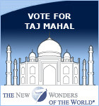 Vote for Taj Mahal