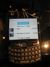 Picasa Photos in BlackBerry