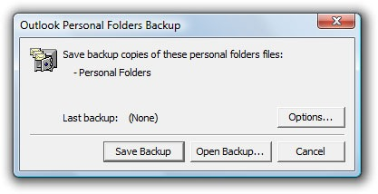 outlook pst backup tool