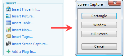 screen capture windows live writer