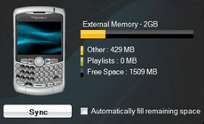BlackBerry iTunes Sync