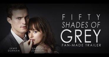 電影 》格雷的五十道陰影(Fifty Shades of Grey)。第一次一個人看電影就獻給這部了XD