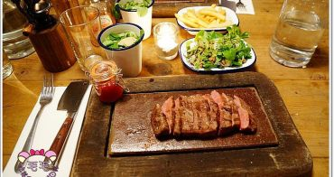 英國倫敦美食推薦 》Flat Iron Steak。超高CP值牛排,便宜又超~好吃♥(牛排熟度英文 點餐教學 piccadilly circus)