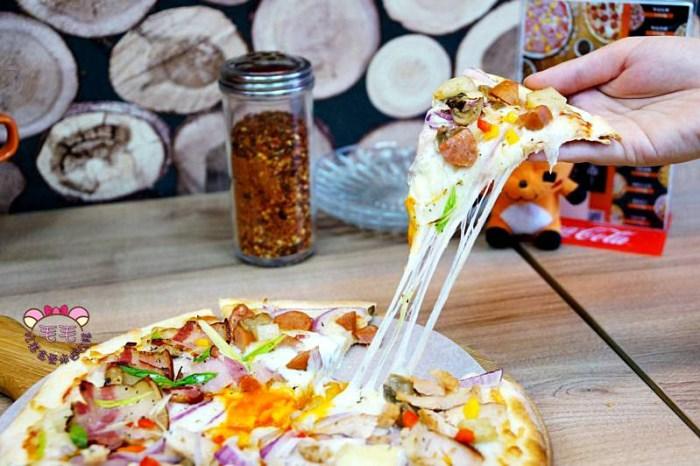 台北士林 捷運劍潭》愛披薩ipizza。起司牽絲牽到三樓用料實在高CP值披薩,甜鹹口味都有外送外帶皆可/士林夜市逛街美食
