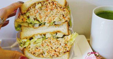 六張犁美食》Fly's kitchen二店,超猛爆料三明治與招牌肉桂捲,插座wifi平日不限時