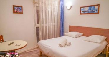 里昂平價飯店推薦|Appart City Lyon Villeurbanne,超大房間/舒適安靜治安好/廚房冰箱俱全