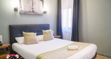 南法Carcassonne卡卡頌平價飯店推薦Hotel Astoria|車站走路4分鐘/超大超美房間