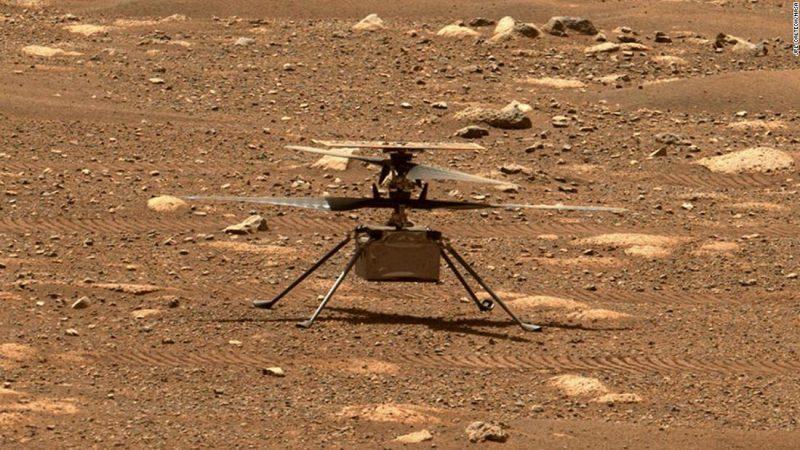 Mirá el video completo del primer vuelo en Marte