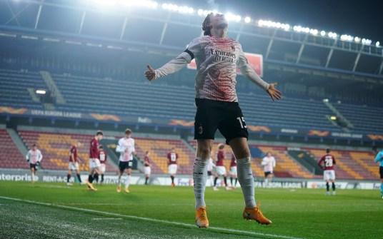 Il Milan espugna Praga con Hauge-gol. Pioli chiude in testa il girone - LaPresse