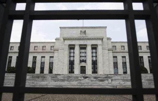 Le siège de la Réserve fédérale à Washington, le 14 juin.