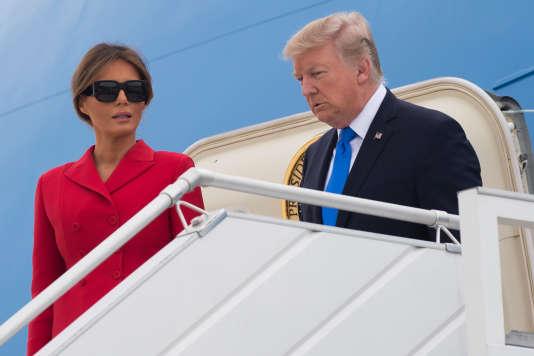 Le président américain et sa compagne, Mélania Trump.