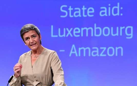 «Nous avons décidé aujourd'hui d'assigner l'Irlande devant la Cour de justice de l'UE pour non-exécution de notre décision», a déclaré Margrethe Vestager,la commissaire européenne à la concurrence.